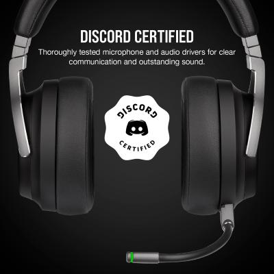 CORSAIR Virtuoso RGB Wireless 7.1 Virtual Surround High-Fidelity Headphone