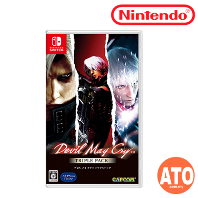 Devil May Cry Triple Pack for Nintendo Switch (JPN-ENG/CHI)