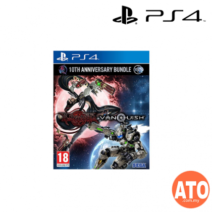 BAYONETTA & VANQUISH 10TH ANNIVERSARY BUNDLE FOR PS4 (ENG)**WITH STEELCASE
