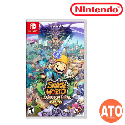 Snack World: The Dungeon Crawl-Gold for Nintendo Switch (EU-ENG)