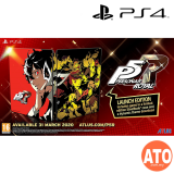 **PRE-ORDER**PERSONA 5 ROYAL LAUNCH EDITION FOR PS4 (R2-ENG)**ETA MAR 31, 2020