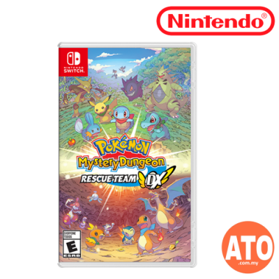 **PRE-ORDER** Pokemon Mystery Dungeon: Rescue Team DX for Nintendo Switch (ENG)**ETA MAR 6, 2020