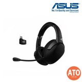 Asus ROG Strix Go 2.4 gaming headset with AI noise-cancelling microphone and low-latency performance for compatibility with PC, Mac, Nintendo Switch, smart devices and PS4