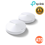 TP-LINK WIFI SYSTEM AC1300 WHOLE-HOME Mesh Wi-Fi System DECO M5 2 PACKS (3 years warranty)