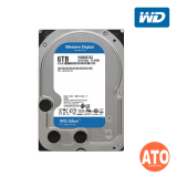 "WD Caviar Blue Desktop HDD 3.5"" SATA 6GB/s - 6 TB 5400rpm, 256mb, Sata III (Blue)** 2 yrs Warranty"