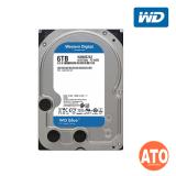 """WD Caviar Blue Desktop HDD 3.5"""" SATA 6GB/s - 6 TB 5400rpm, 256mb, Sata III (Blue)** 2 yrs Warranty"""
