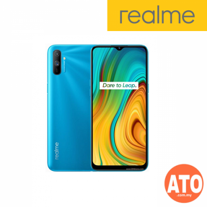 Realme C3 (3GB+32GB) Helio G70, Triple Camera, 5000mAh (Blue | Red)