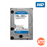 "WD Caviar Blue Desktop HDD 3.5"" SATA 6GB/s - 3 TB 5400rpm, 64mb, Sata III (Blue) ** 2 yrs Warranty"