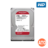 """WD Red for NAS 3.5"""" SATA 6GB/s - 2 TB , 256mb, Sata III (RED) ** 3 yrs Warranty"""