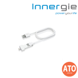 Innergie MagiCable Duo with Lightning Connector