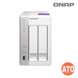 "QNAP TS-231P 2-bay NAS, Annapurna Labs Alpine AL-212 1.7GHz Dual Core, 1 GB DDR3, 3.5"" SATA  6Gbps (1 x Gigabit Lan, 3 x USB 3.0, External, 65W) **No HDMI output"