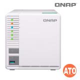 "QNAP TS-328 3-bay NAS, ARM Quad-core 1.4GHz, 2 GB DDR4 RAM (not expandable), 2.5''/3.5"" SATA  6Gbps, (2 x Gigabit Lan, 2 x USB 3.0, 1 x USB 3.0, External, 65W) ** no HDMI Output"