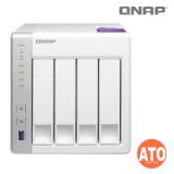 "QNAP TS-431P 4-bay NAS, Annapurna Labs Alpine AL-212 1.7GHz Dual Core, 1 GB DDR3 (not expandable), 2.5''/3.5"" SATA  6Gbps, (2 x Gigabit Lan, 3 x USB 3.0, External, 90W) ** no HDMI Output"