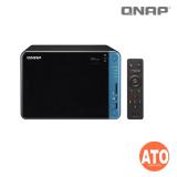 """QNAP TS-653B-4G 6-bay NAS, Annapurna Labs Alpine AL-324 1.7GHz Quad Core, 2GB DDR4 UDIMM (Max. 16GB), 2.5''/3.5"""" SATA  6Gb/s, (2 x 10GbE SFP+ + 2 x GbE, 4 x USB 3.0, External, 2x 250W) no HDMI Output"""