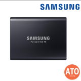 Samsung T5 USB3.0 TypeC External Portable Up to 540MB/s  (Blue / Black - 250GB l 500GB l 1TB l 2TB ) **3 Yrs Warranty