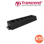 TRANSCEND Docking Station 6 Port Dock for DrivePro Body 52 **2 Years Limited Warranty