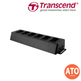 TRANSCEND Docking Station 6 Port Dock for DrivePro Body 30 *Support Network Based Data Upload* **2 Years Limited Warranty