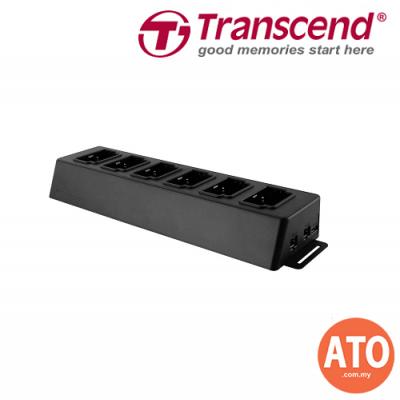 TRANSCEND Docking Station 6 Port Dock for DrivePro Body 30 *Support Network Based Data Upload* **2 Years Limited Warranty