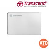 "Transcend StoreJet 25C3 2.5"" USB 3.1 Portable Hard drive Aluminum design. Amazingly light 1TB"