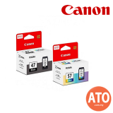 Canon Cartridge Ink (PG-47-Black / CL-57-Color)