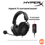 HyperX Cloud Alpha S Gaming Headset (Black | Blue)