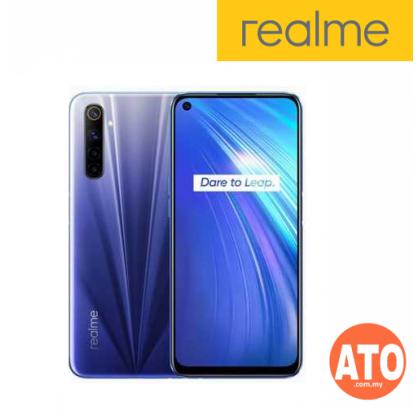 Realme 6 (8GB+128GB) Comet Blue | Comet White