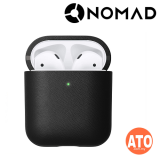 Nomad AirPods Case (For Wireless Charging Case) - Rustic Brown | Black
