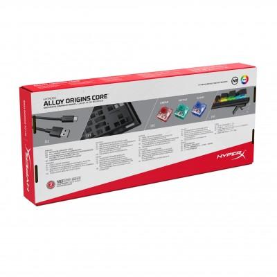 HyperX Alloy Origins Core Gaming Keyboard (Red Switch) **Restock Shipment ETA Early June**