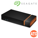 Seagate Firecuda Game Dock 4TB (Built-in 4TB HDD Storage, Expandable M.2 NVMe SSD Slot)