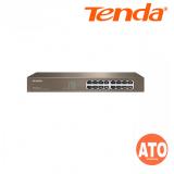 Tenda TEF1016D 16-Port 10/100M Switch 3 Years Warranty