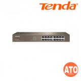 Tenda TEG1016D 16-port 10/100/1000 Mbps auto-negotiation RJ45 ports Gigabit Rackmount Ethernet Switch 3 Years Warranty