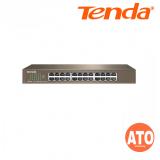 Tenda TEG1024D 24-port 10/100/1000 Mbps auto-negotiation RJ45 ports Gigabit Rackmount Ethernet Switch 3 Years Warranty