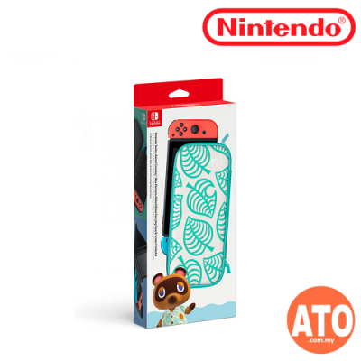 Nintendo Switch Animal Crossing : New Horizons Aloha Edition Carrying & Screen Protector