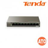 Tenda TEF1109P-8-63W 9-Port 10/100Mbps Desktop PoE Switch with 8-Port PoE -3Years Warranty