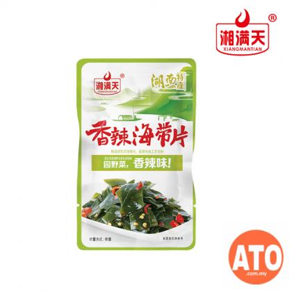 **5 packs**湘满天 香辣  Xiang Man Tian Spicy Snacks  莴笋 Lettuce I 海带丝  seaweed strips (28g) I 海带结 seaweed  knot  I 海带片 seaweed sheet