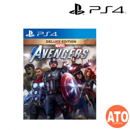 Marvel's Avengers Deluxe Edition for PS4 (ENG)