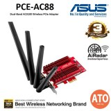 Asus (PCE-AC88) AC3100 Dual-Band PCIe® Wi-Fi Adapter