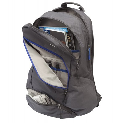"""STM Impulse 15"""" Backpack Suitable for Laptop and Tablet (Charcoal)"""
