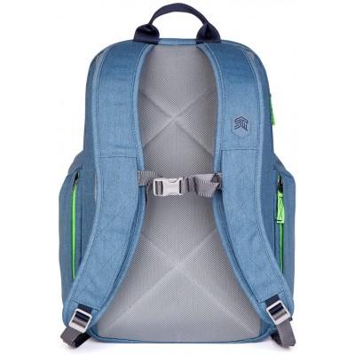STM Kings, 15-Inch Backpack - Botanical Green | China Blue | Desert Brown | Tornado Grey