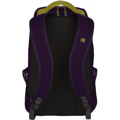 STM Saga, 15-Inch Backpack - Black | Dark Navy | Royal Purple