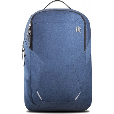 STM Myth 28L Backpack - Granite Black | Slate Blue | Windsor Wine
