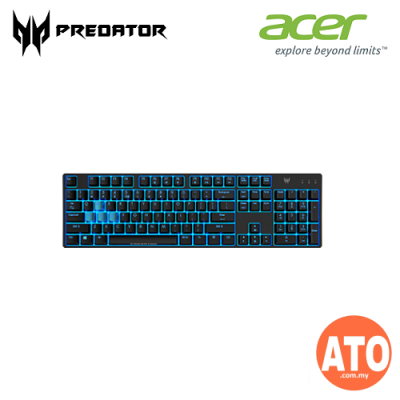Acer Predator Keyboard Mouse & Mouse Pad Combo (Aethon 300 Gaming Keyboard + Cestus 330 Gaming Mouse + MousePad)