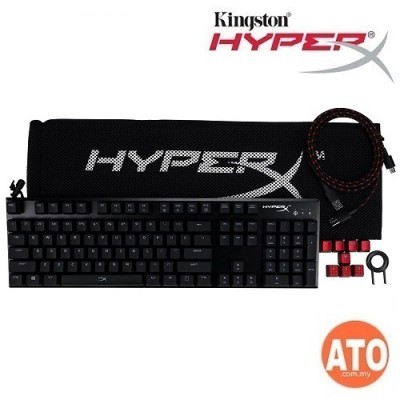 HyperX Keyboard Mouse Combo (Alloy FPS Gaming Keyboard (Cherry MX BL/Red) + Pulsefire Surge RGB Gaming Mouse)