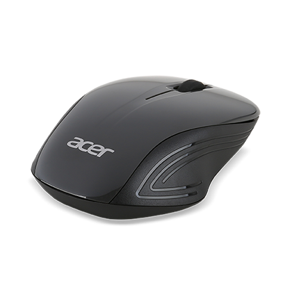 Acer Wireless Optical Mouse - Black