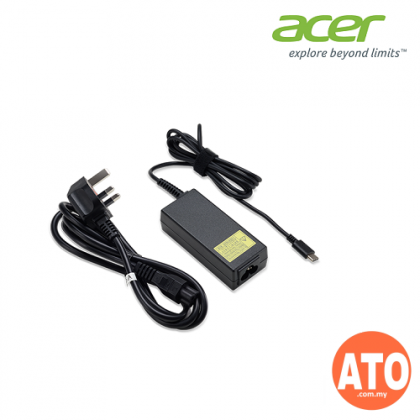 Acer Power Adapter 45W Type C for Swift 3 / Swift 5 / Swift 7 / Chromebook
