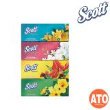 Scott 4x90s Facial Tissue/ 16x8s Pocket Pack