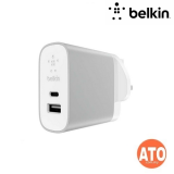 Belkin BOOST↑CHARGE™ 27W USB-C PD + 12W USB-A Wall Charger #2-YEARS Limited Warranty