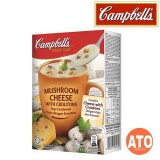 CAMPBELL MUSHROOM CHEESE WITH CROUTONS 3x21G