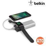 Belkin POWER PACK 6700,W/MICROUSB/4' USB CBL,SILVER #2-YEARS Limited Warranty