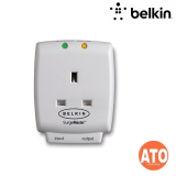 """""""Belkin Home Series 1-Outlet SurgeCube """" #Limited Life Time Warranty"""